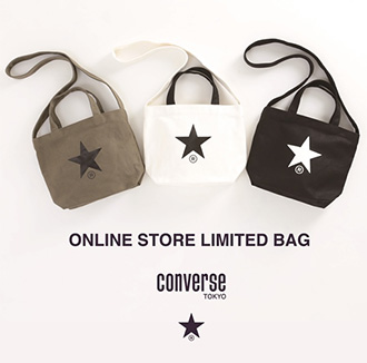 ONLINE STORE LIMITED BAG発売!