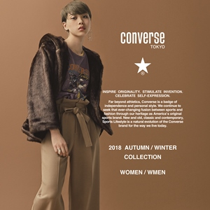 CONVERSE TOKYO AUTUMN / WINTER 2018-19 COLLECTION