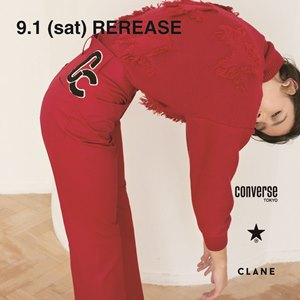 CONVERSE TOKYO × CLANE 2018-19 AW 9.1 (sat) RELEASE