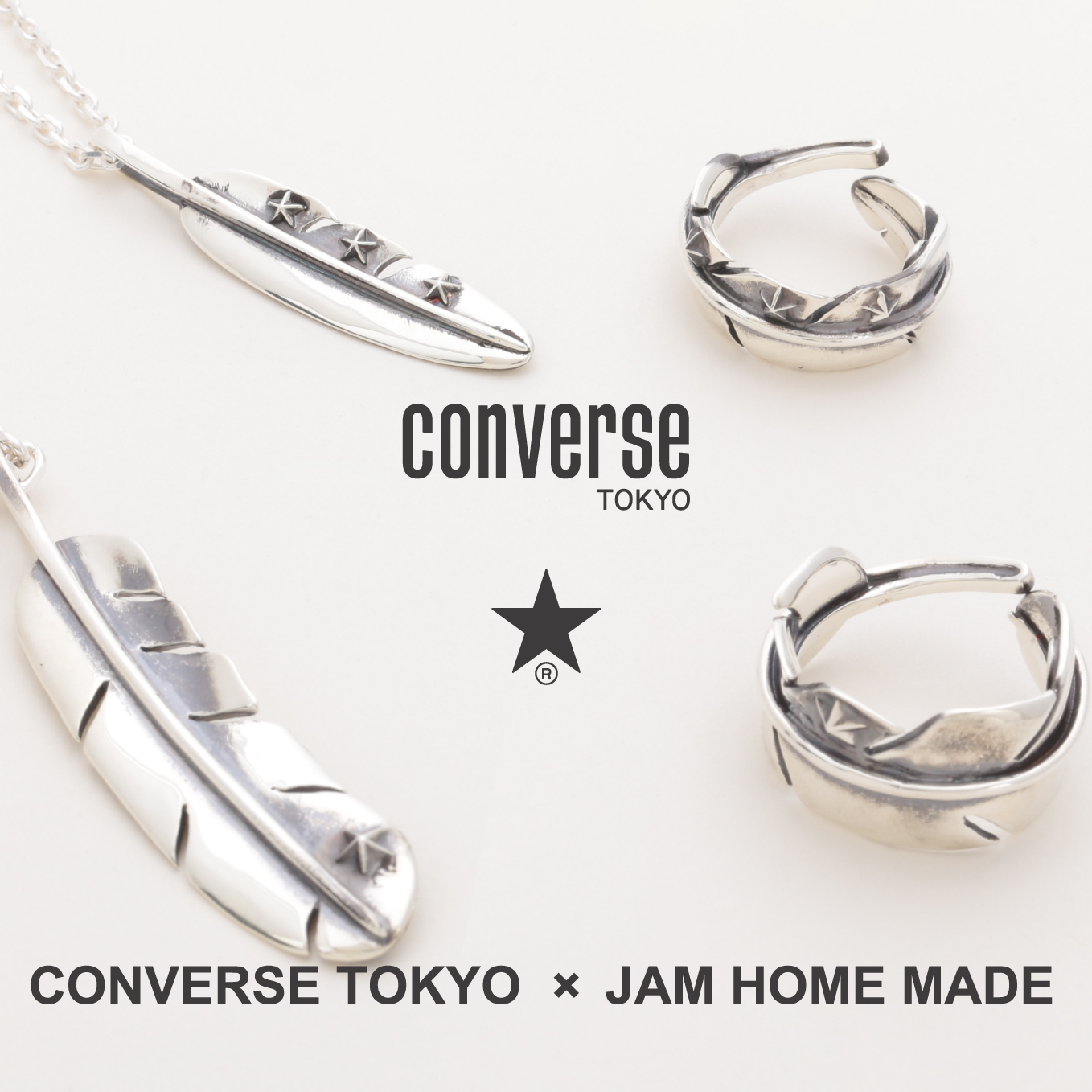 CONVERSE TOKYO × JAM HOME MADE COLLABORATION
