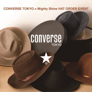CONVERSE TOKYO × Mighty Shine HAT ORDER EVENT at CONVERSE TOKYO