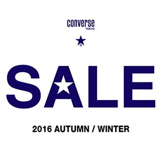 CONVERSE TOKYO 2016 A/W SALE START!