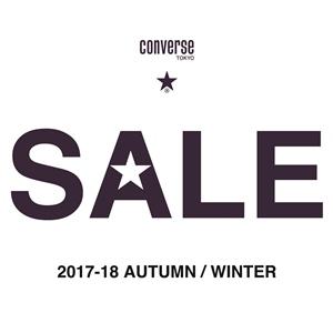 CONVERSE TOKYO 2017 A/W SALE START!