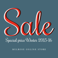 MELROSE ONLINESTORE 2016 WINTER SALE スタート!!