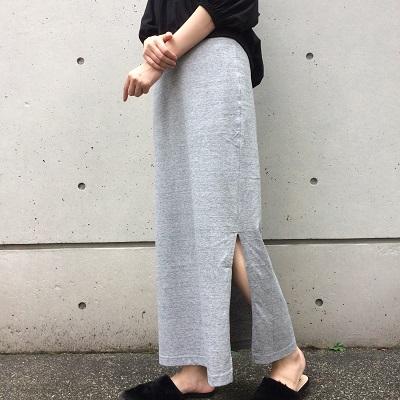 新作ロングスカート◆さっと穿くだけで、お洒落で存在感抜群なスタイリングに!