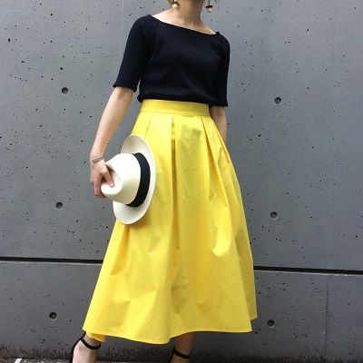 Trend Color◆ イエローを着たい、そんな気分の方に