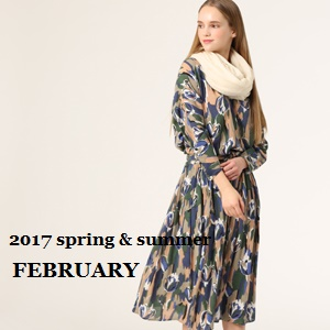 melrose CLAIRE    2017spring&summer  FEBRUARY