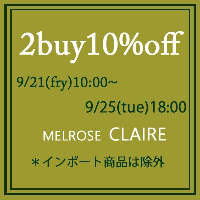 ☆【MELROSE CLAIRE】お買い得!!!!☆2buy10%off☆