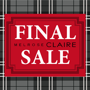 2016-7 WINTER FINAL SALE!!!