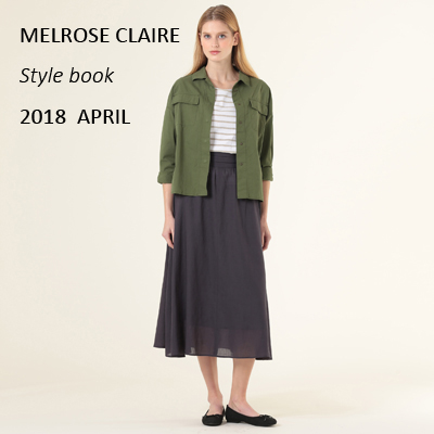 MELROSE CLAIRE 最新Style book プレゼント★