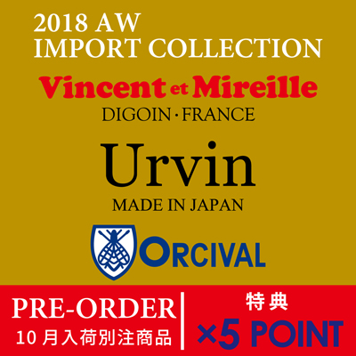 ☆2018 AW10月入荷 INPORT COLLECTION Pre-order☆×5POINT!!