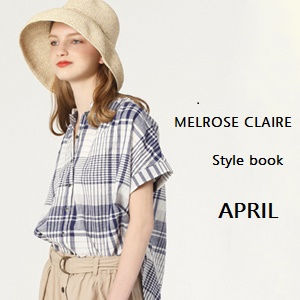 melrose CLAIRE 2017  spring&summer APRIL