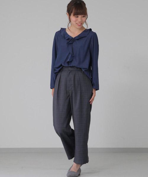 ☆Rayon polyester blouse☆