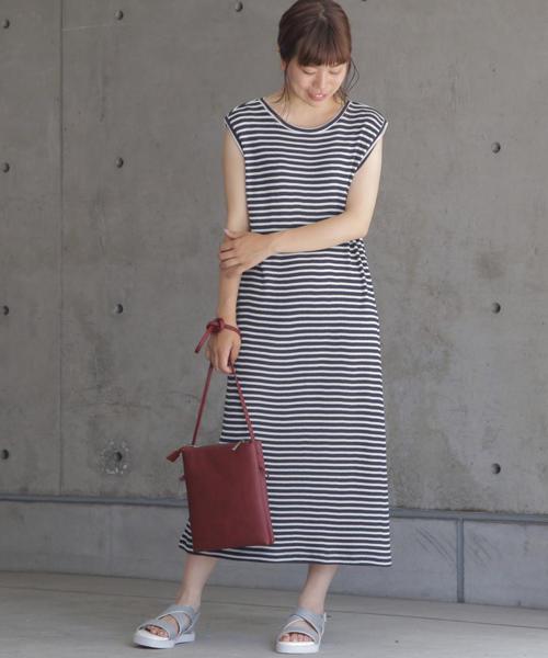 ☆Waffle Jersey dress☆