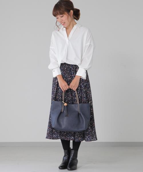☆Petal flower print skirt☆