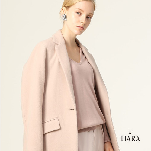 パウダーピンクが可愛い!冬のお洋服が揃いました