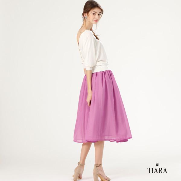 キレイ色ボリュームスカート